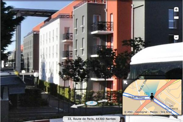 Meubl studio tourisme affaires r sidence les estudines for Appartement meuble nantes